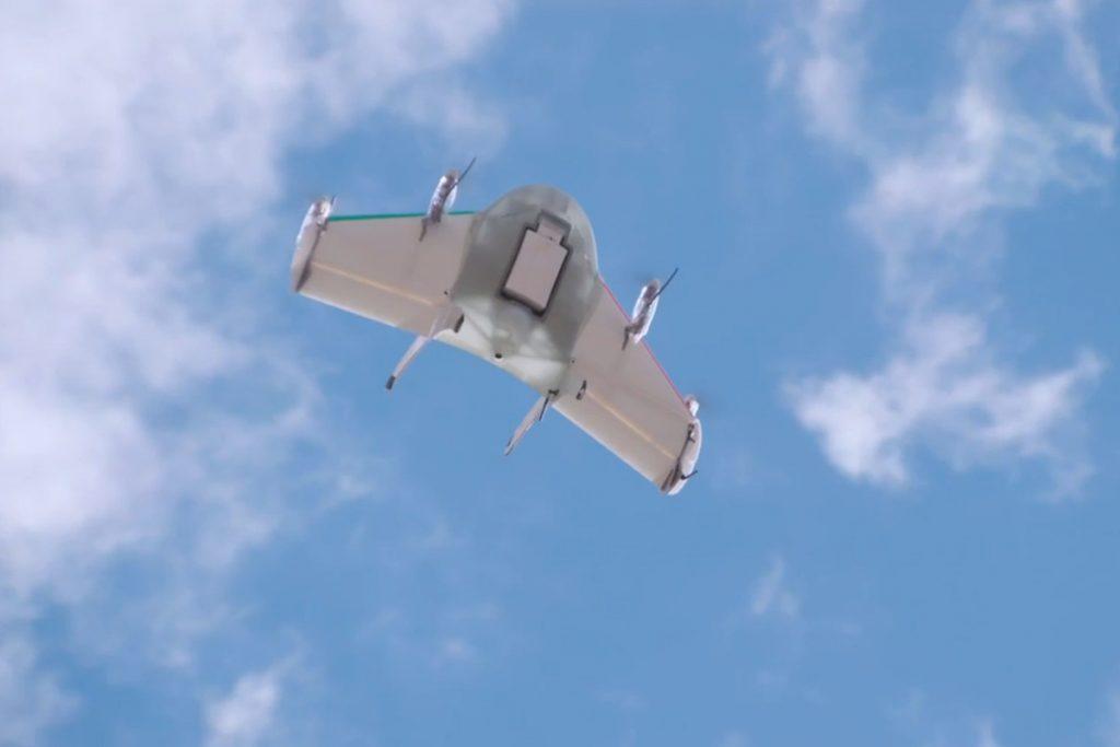 Project wing. Dron de Google